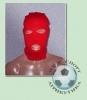 Шапка-маска красная