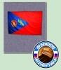 Флаг ЦСКА с орденом Ленина(средний)