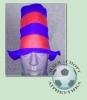 Фан-шапка красно-синяя (3)