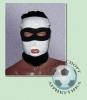 Шапка-маска бело-чёрная