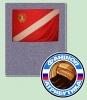 флаг Спартак  с орденом Ленина(средний)