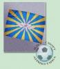 Флаг ВВС новый (90х60)