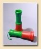Труба звуковая, красно-зелёная, большая